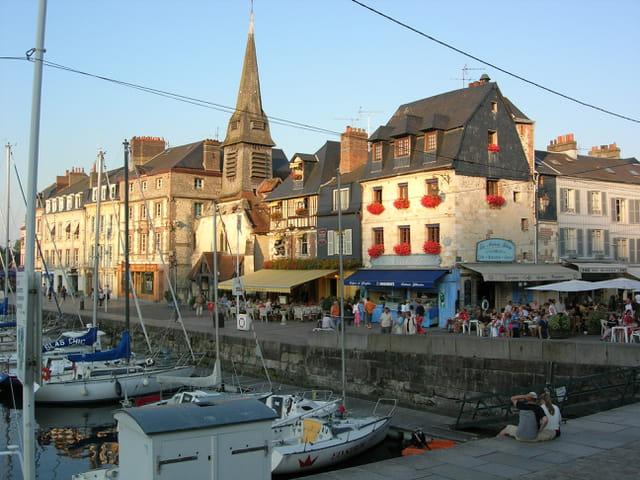 Port d'honfleurs