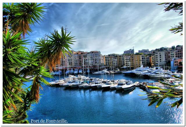 Port de Fontvieille, Monaco.