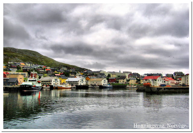 Port de Honningsvag, Norvége