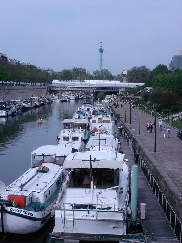 Port de l 39 arsenal par caroline mignon sur l 39 internaute - Port de l arsenal paris ...