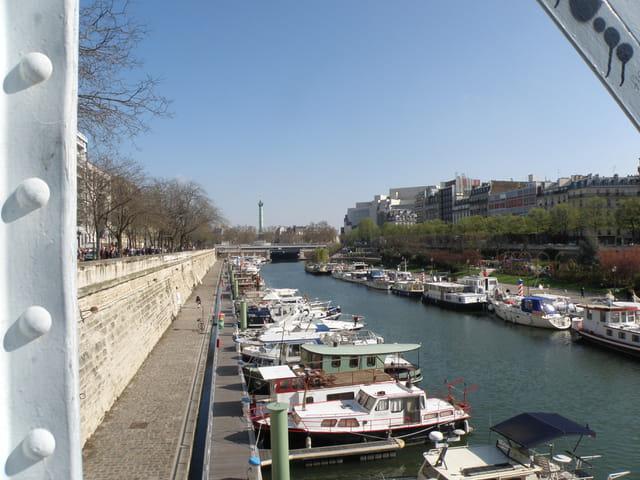 Port de l'Arsenal à Paris
