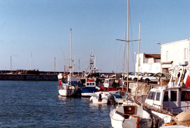 Port de la Flotte-en-Ré le soir