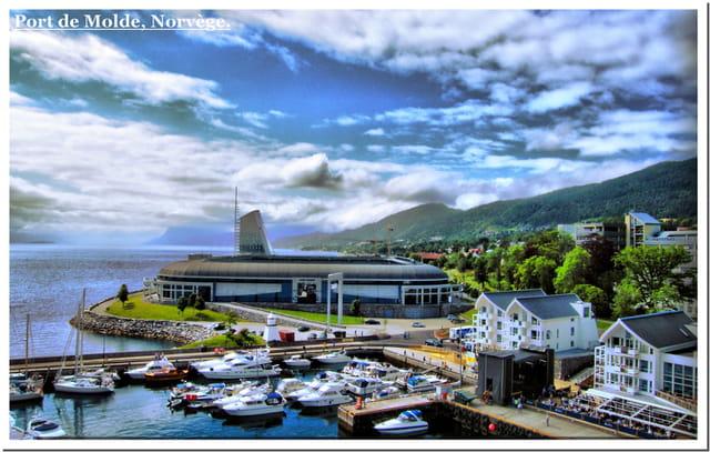 Port de Molde, Norvège.