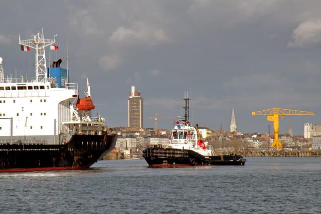 Port de Nantes.