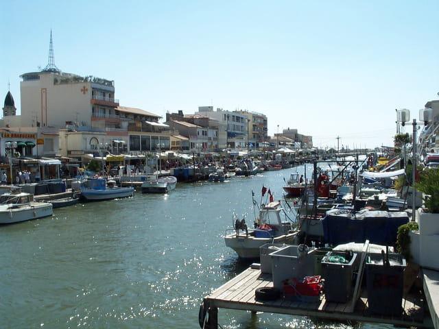 Port de Palavas les flots