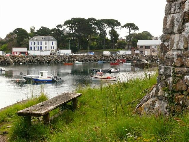 Port de pêche breton