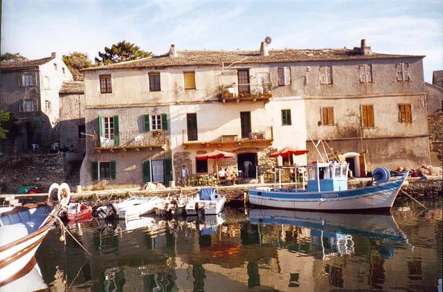 Port de pêche de Centuri
