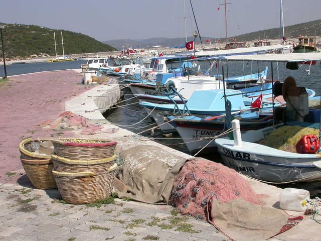 Port de pêche de jour