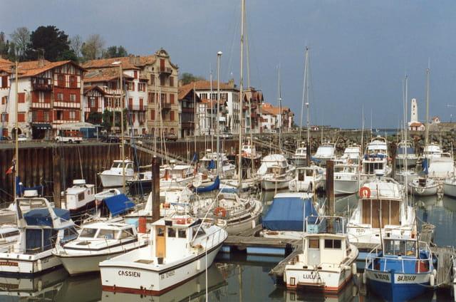 Port de plaisance de Saint Jean de Luz