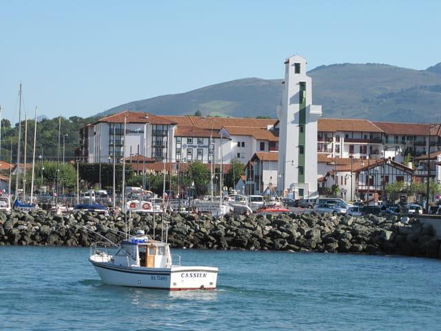 Port de Saint Jean de Luz.