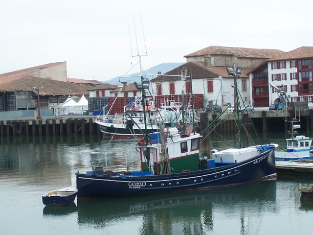 Port de St Jean de Luz.