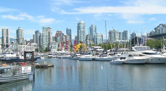Port de Vancouver - Canada