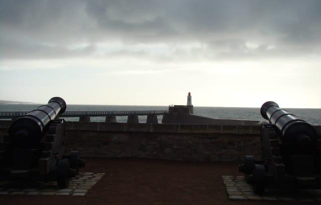 port des Sables d'Olonne, les canons