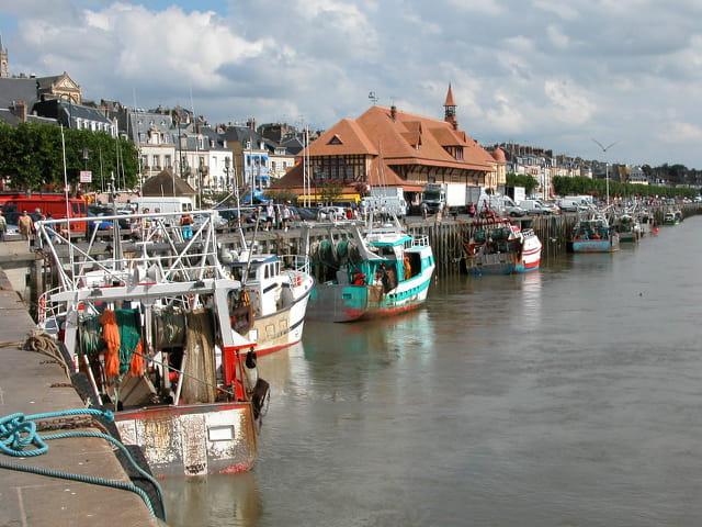 Port et  poissonerie