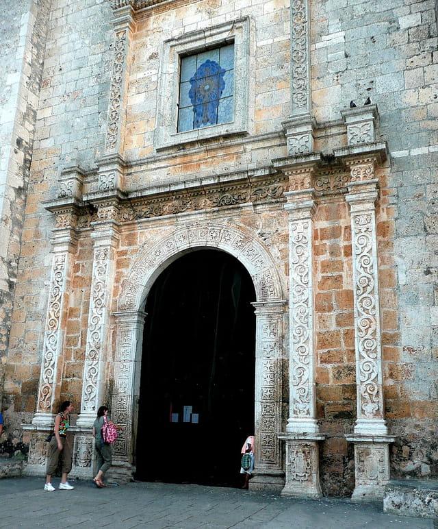 Portail Cathédrale Valladolid