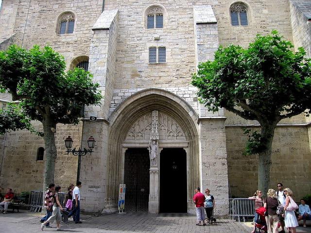 Porte de l'église St.Jean Baptiste