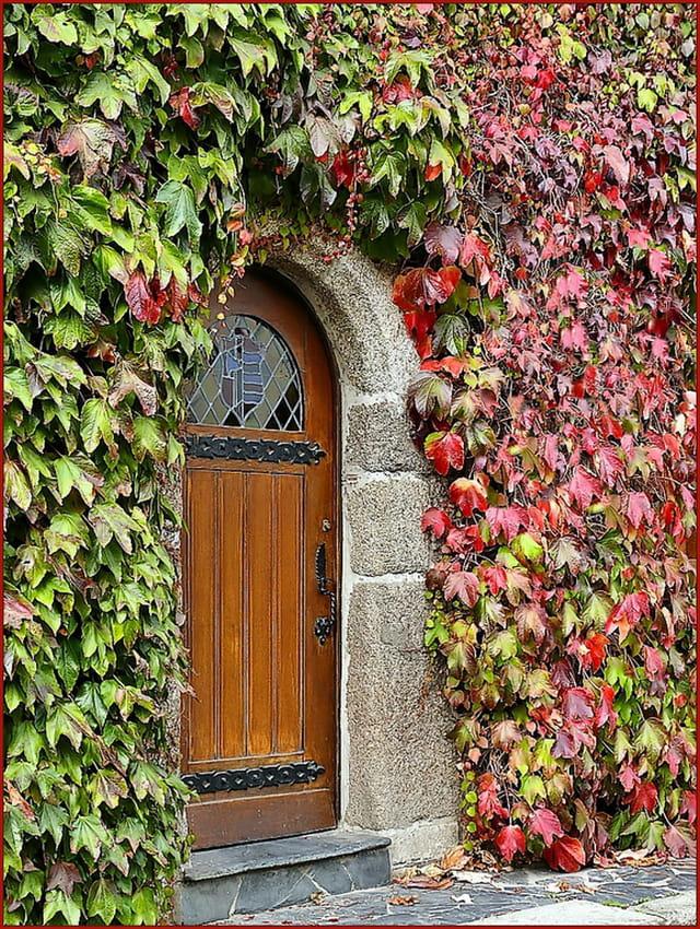 Porte des saisons.