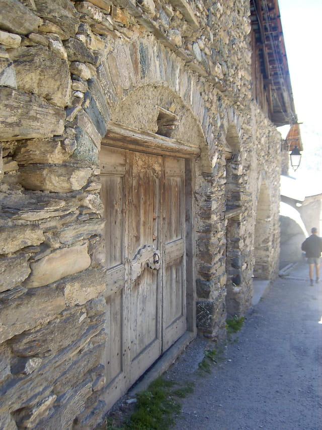 Porte pittoresque