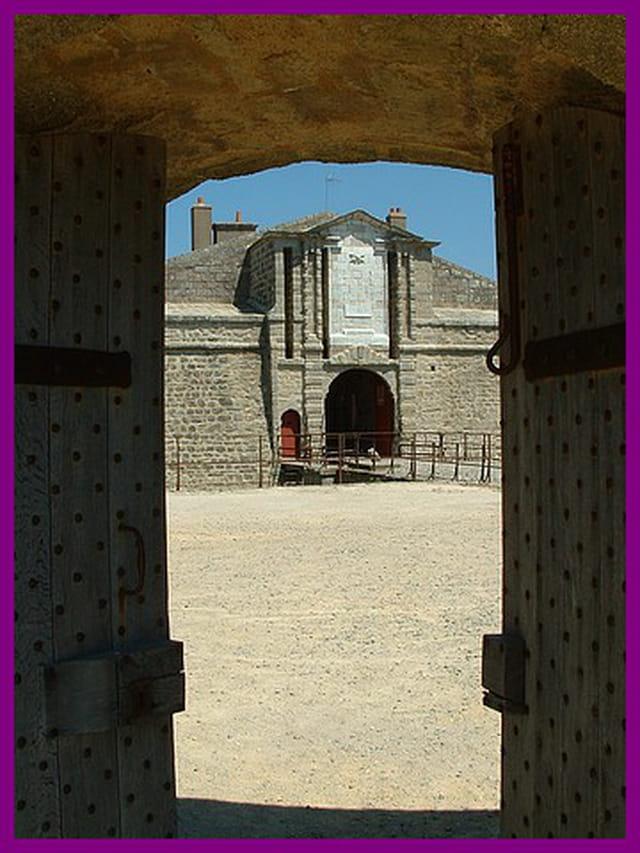 Porte sur citadelle