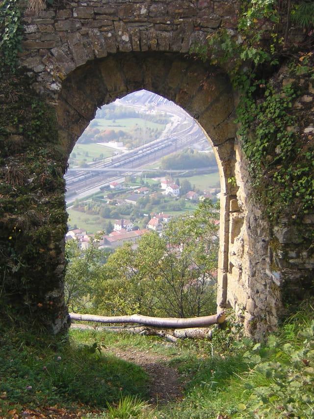 Porte sur la ville