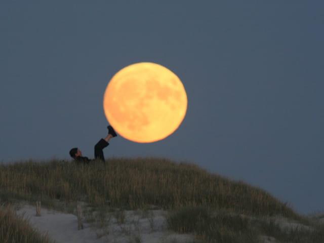 Porter la pleine lune