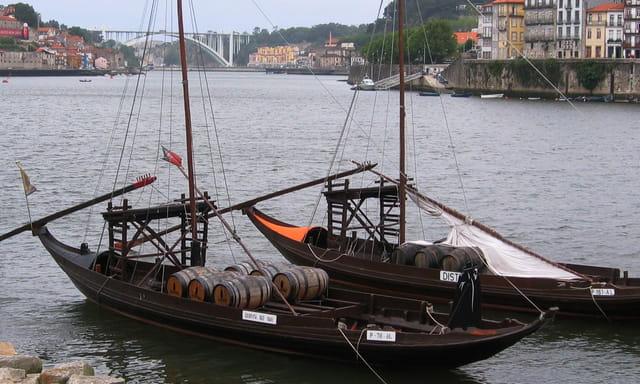 Barques à Porto