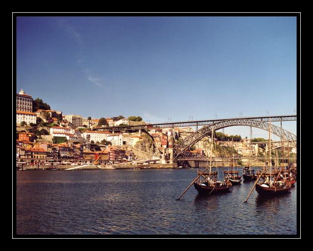 Porto - Le pont Eiffel sur le Douro