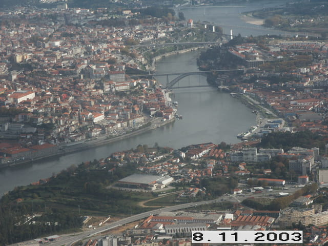 Porto vue du ciel