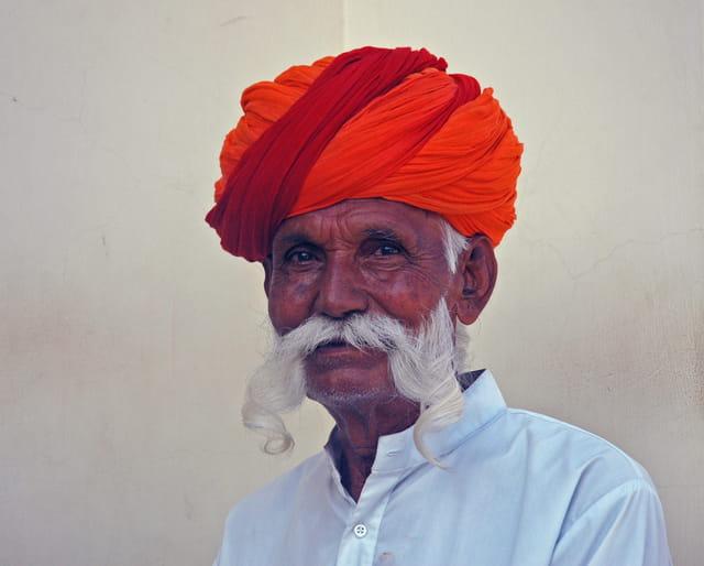 Portrait d'un indien