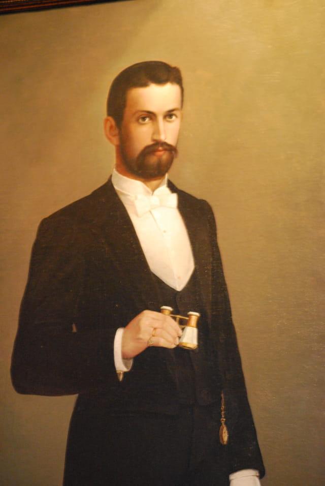 portrait d'un jeune homme Russe