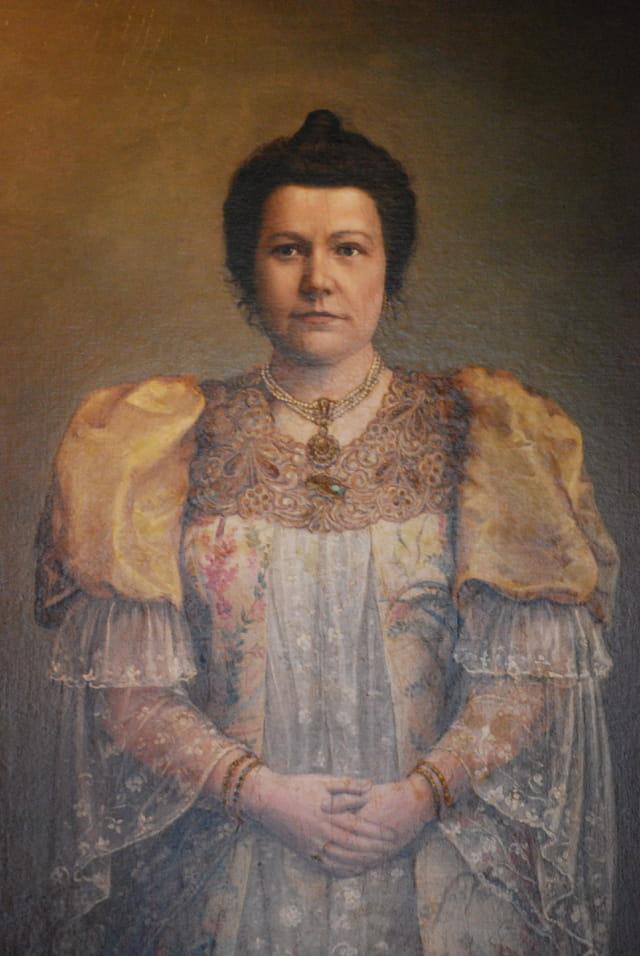 portrait de femme Russe
