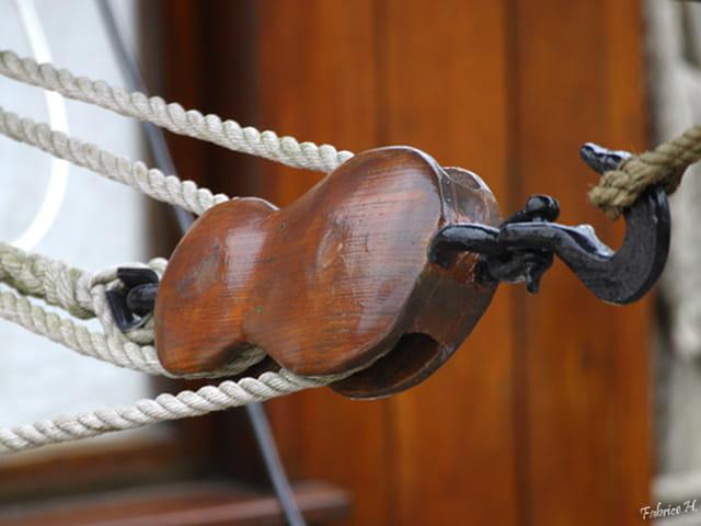 poulie violon marin