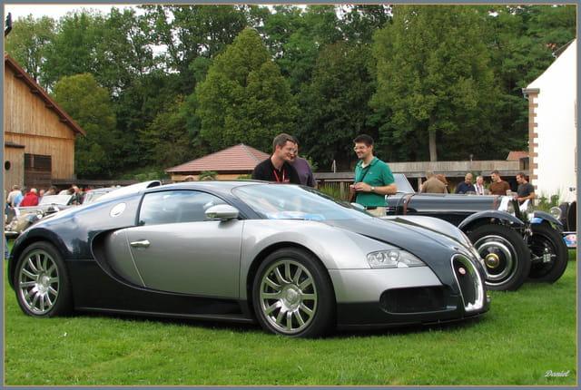 Pour Serge, une Bugatti Veyron