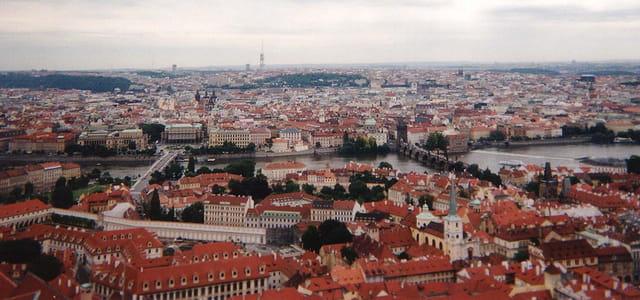 Prague vue panoramique