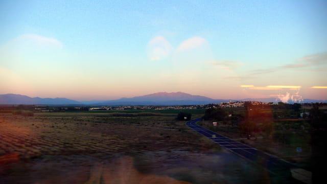 Premier soleil sur les Pyrénées