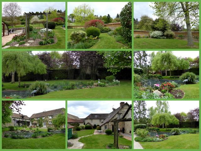 Printemps dans un jardin en Normandie (entre Gaillon et Vernon)
