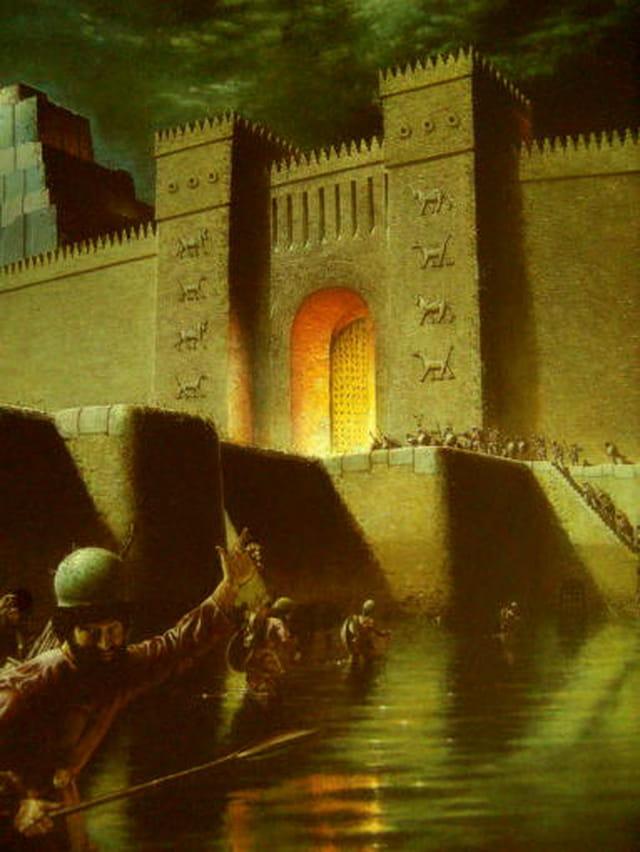 Prise de Babylone en 539 avne