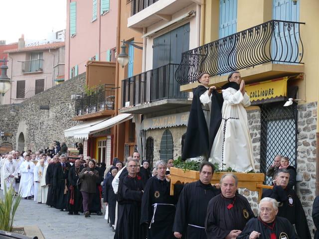 Procession à Collioure