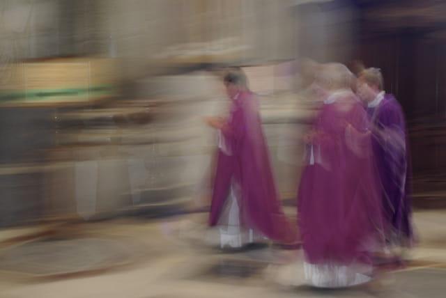 Procession : suivez la flèche