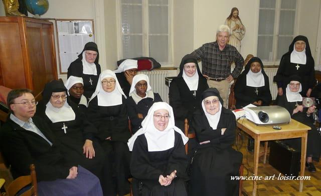Saint Flour Projection privée chez les moniales Visitandines