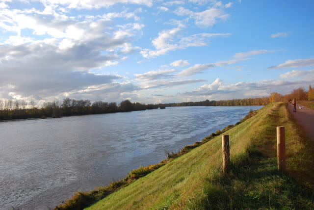 Promenade au bord de la Loire