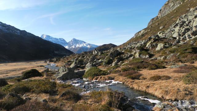 Promenade au pied du mont Ruitor