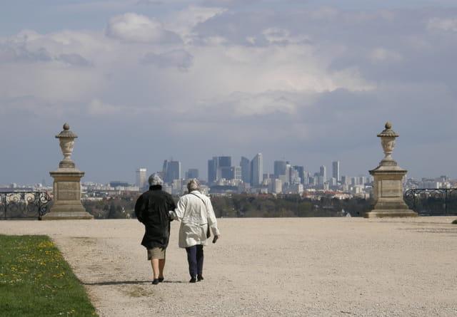 Promenade dans le parc