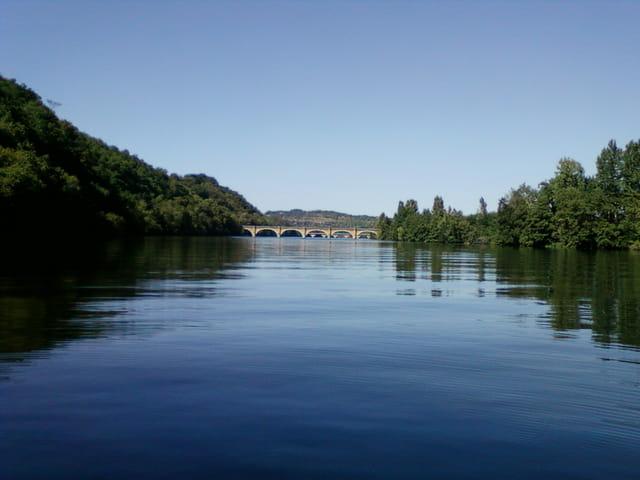 promenade en bateau sur la Dordogne