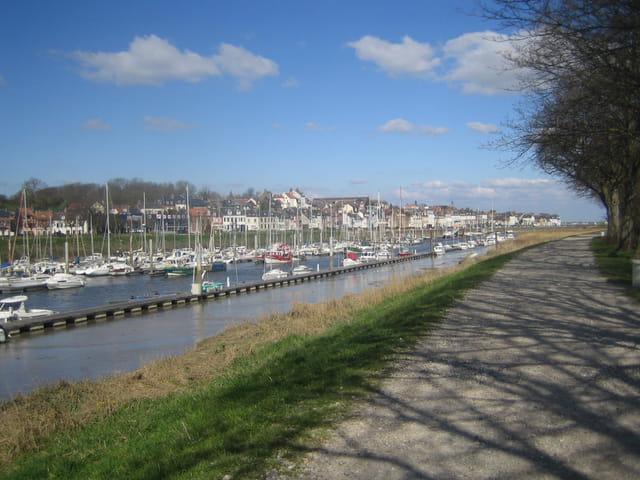 Promenade portuaire