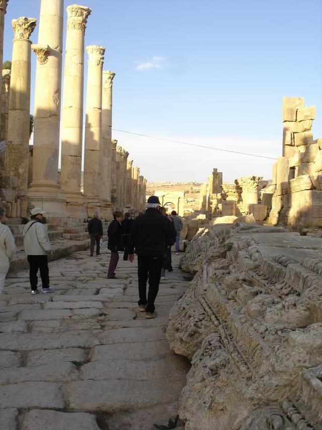 Promenade  vestiges  romains
