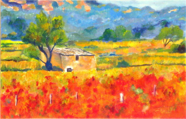 Provence en automne