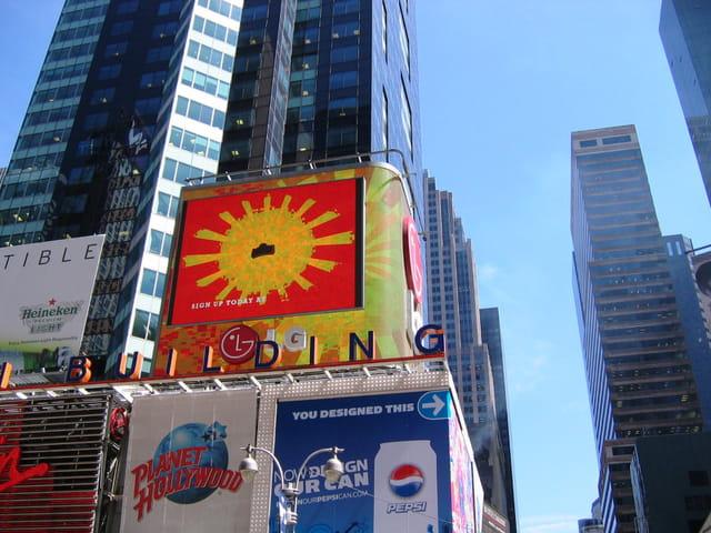 Pub à Times Square