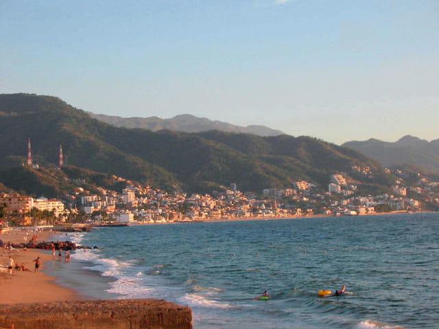 Puerto Vallarta au coucher du soleil