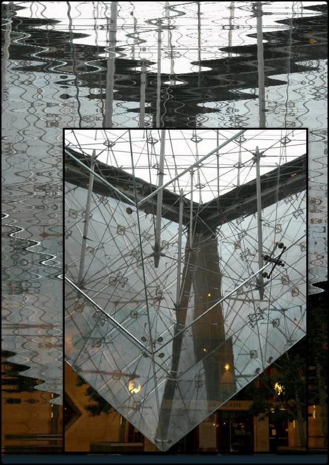 Pyramide renversée  du Louvre